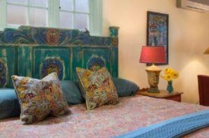 the Peralta room at El Farolito Inn
